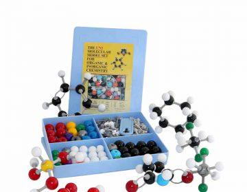 مدل مولکولی یونی127 قطعه شیمی آلی و معدنی