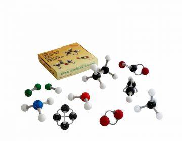 مدل مولکولی 39 قطعه شیمی آلی