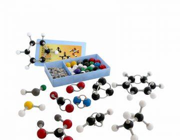 مدل مولکولی یونی 64 قطعه  شیمی آلی و معدنی